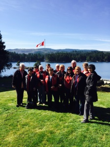 Group photo Lioness Lake Shawnigan Leadership 2015