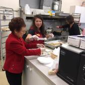 Supporting Other Services: Salvation Army Dim Sum Lunch 2017