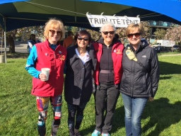 Hike for hospice 1