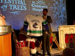 Auctioning a signed hockey jersey