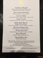 lioness govt house menu